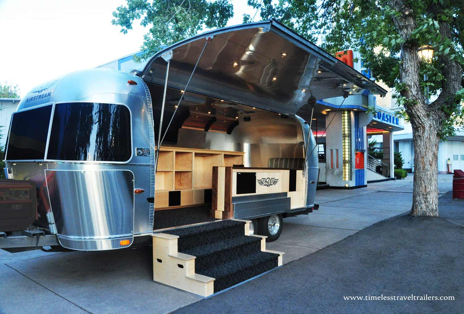 Golf Apparel On Tour In An Airstream And Spartan Pop Up Shop