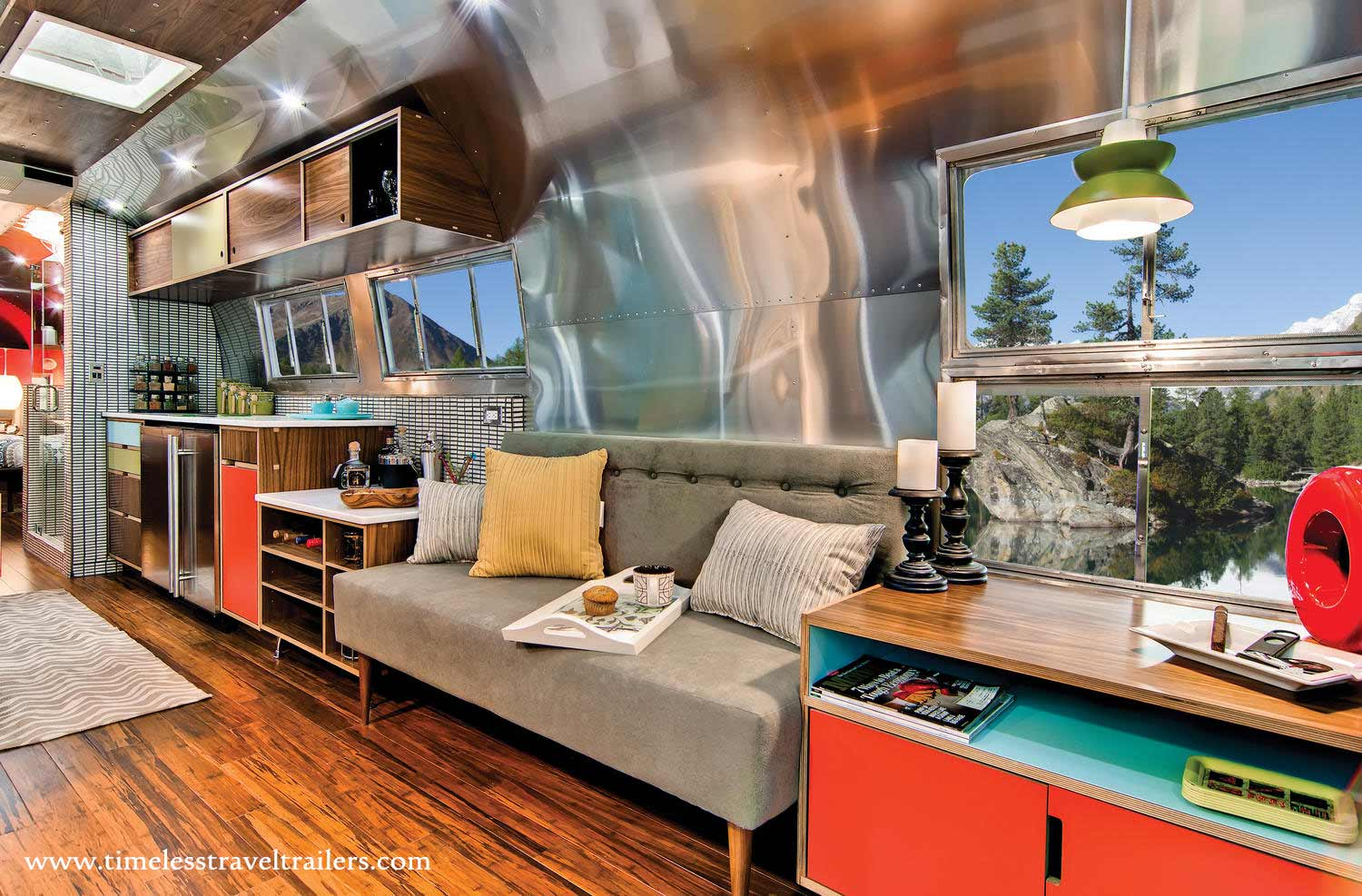 Western pacific airstream timeless travel trailers for Interior site