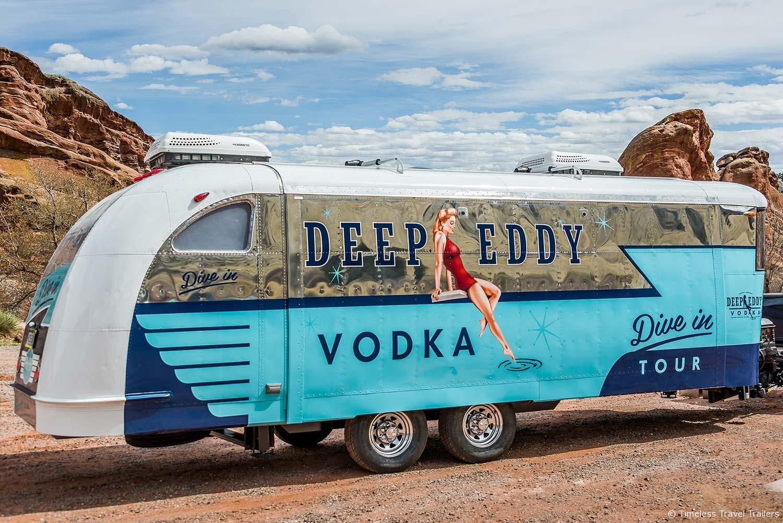deep eddy vodka custom spartan trailer by timeless. Black Bedroom Furniture Sets. Home Design Ideas