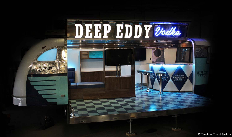 Custom Built Travel Trailers >> Deep Eddy Vodka - Custom Spartan Trailer by Timeless Travel Trailers