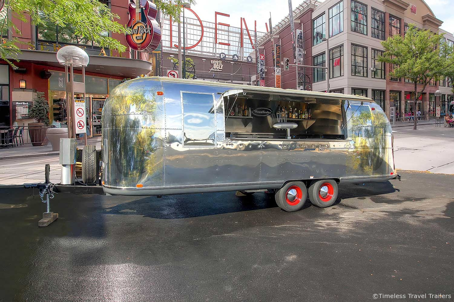 Road Soda Bar Mobile Airstream Bar By Timeless Travel