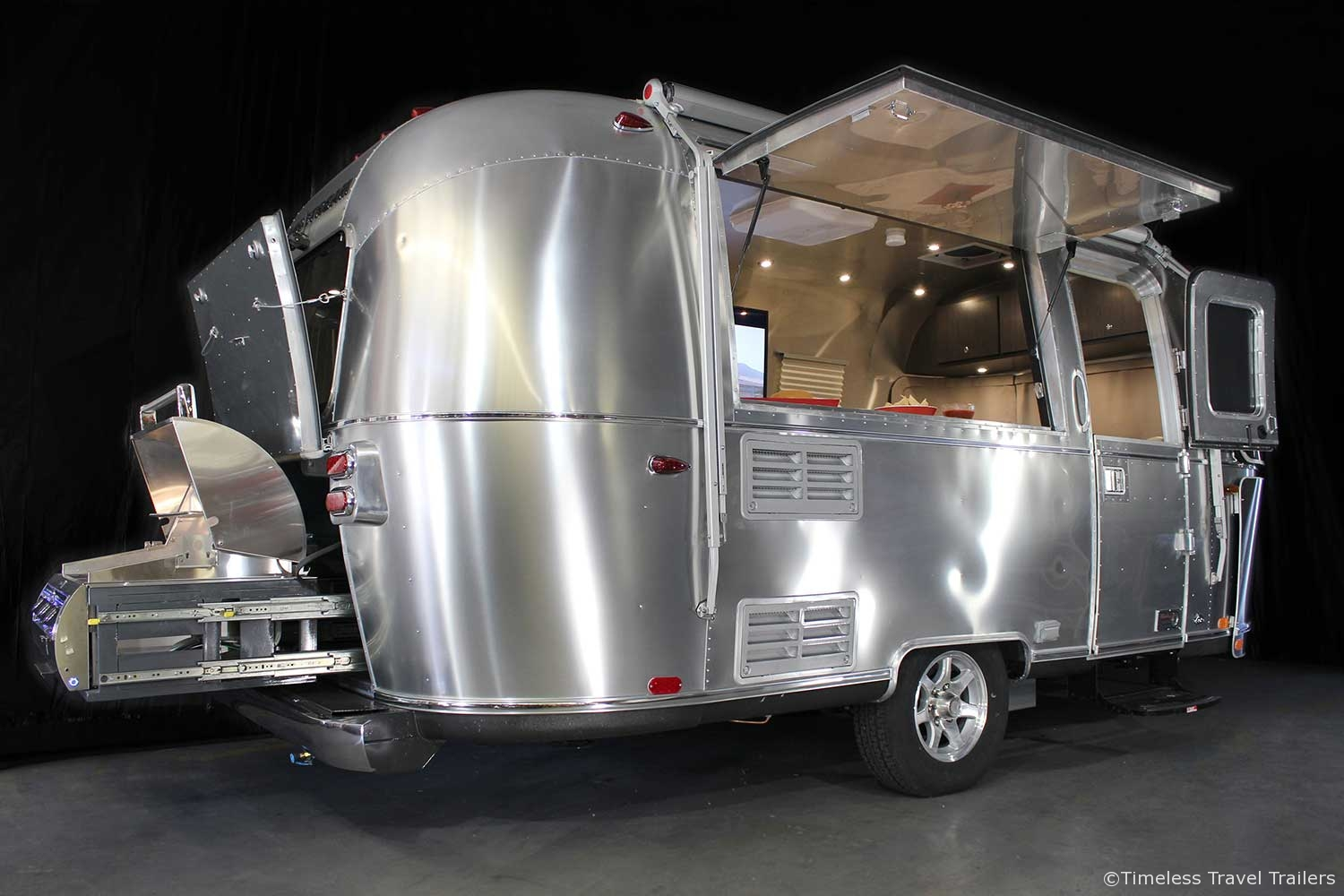 Tailgating Airstream By Timeless Travel Trailers