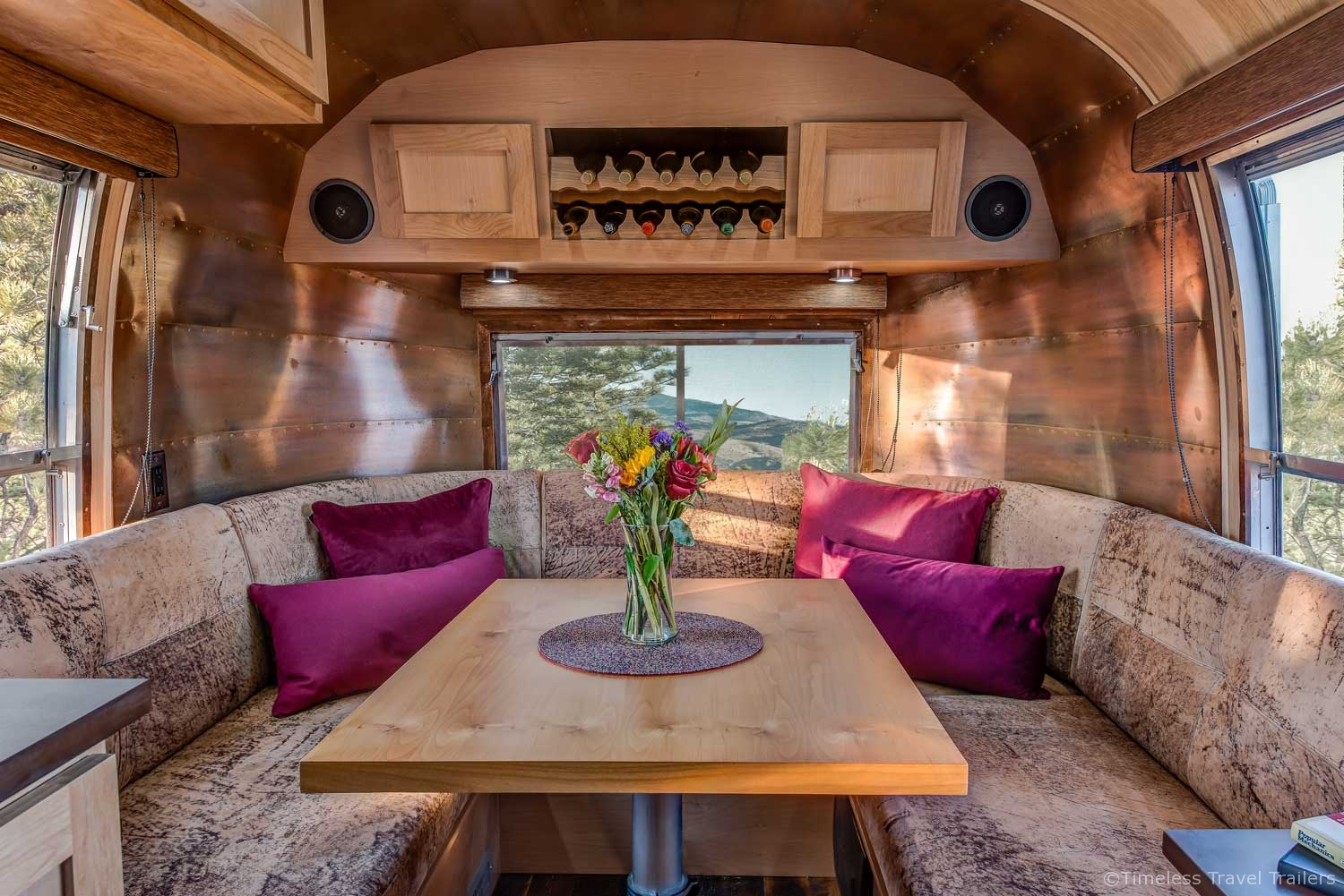 Modern Craftsman Airstream by Timeless Travel Trailers