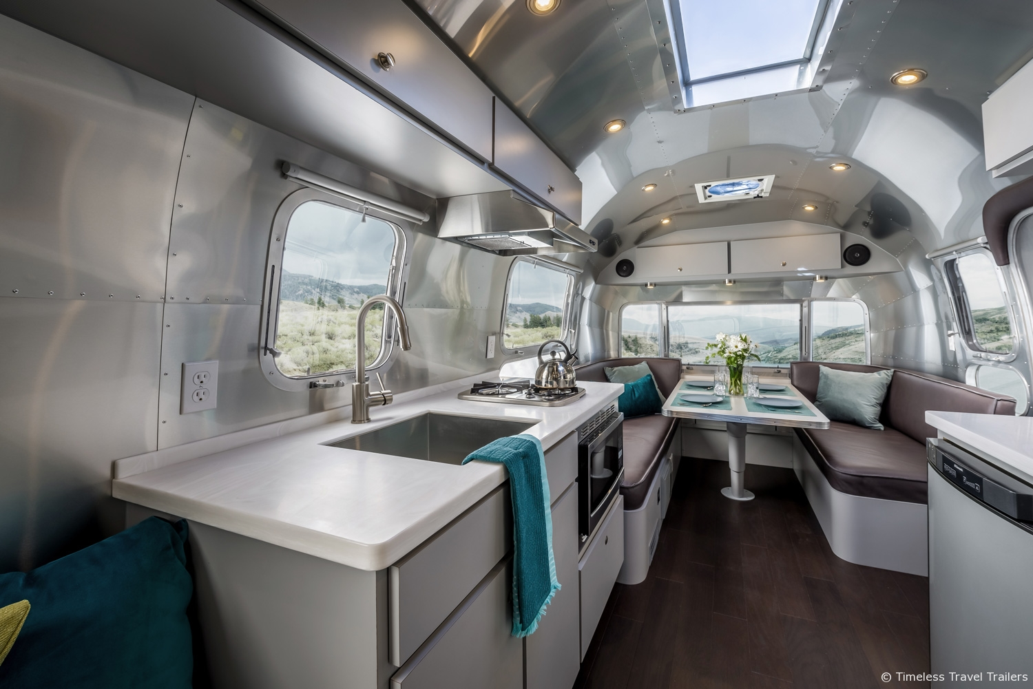 Modern Kansas Airstream by Timeless Travel Trailers
